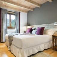Alquiler de lujo en Baqueira, Vista Unha A dormitorio 2