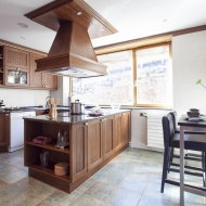Casa Montcorbisson, cocina.