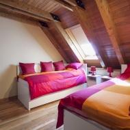 Casa Montcorbisson, dormitorio.