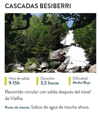 cascadas de besiberri