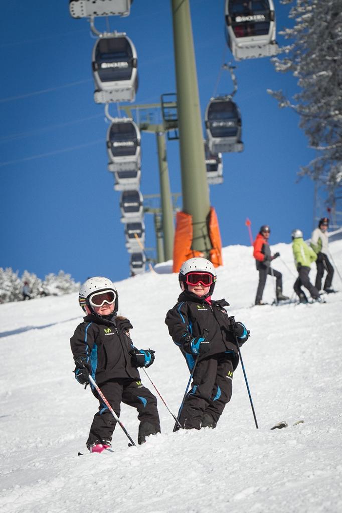 empezar a esquiar